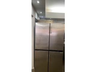 Stainless steel front bar fridge drink under counter commercial